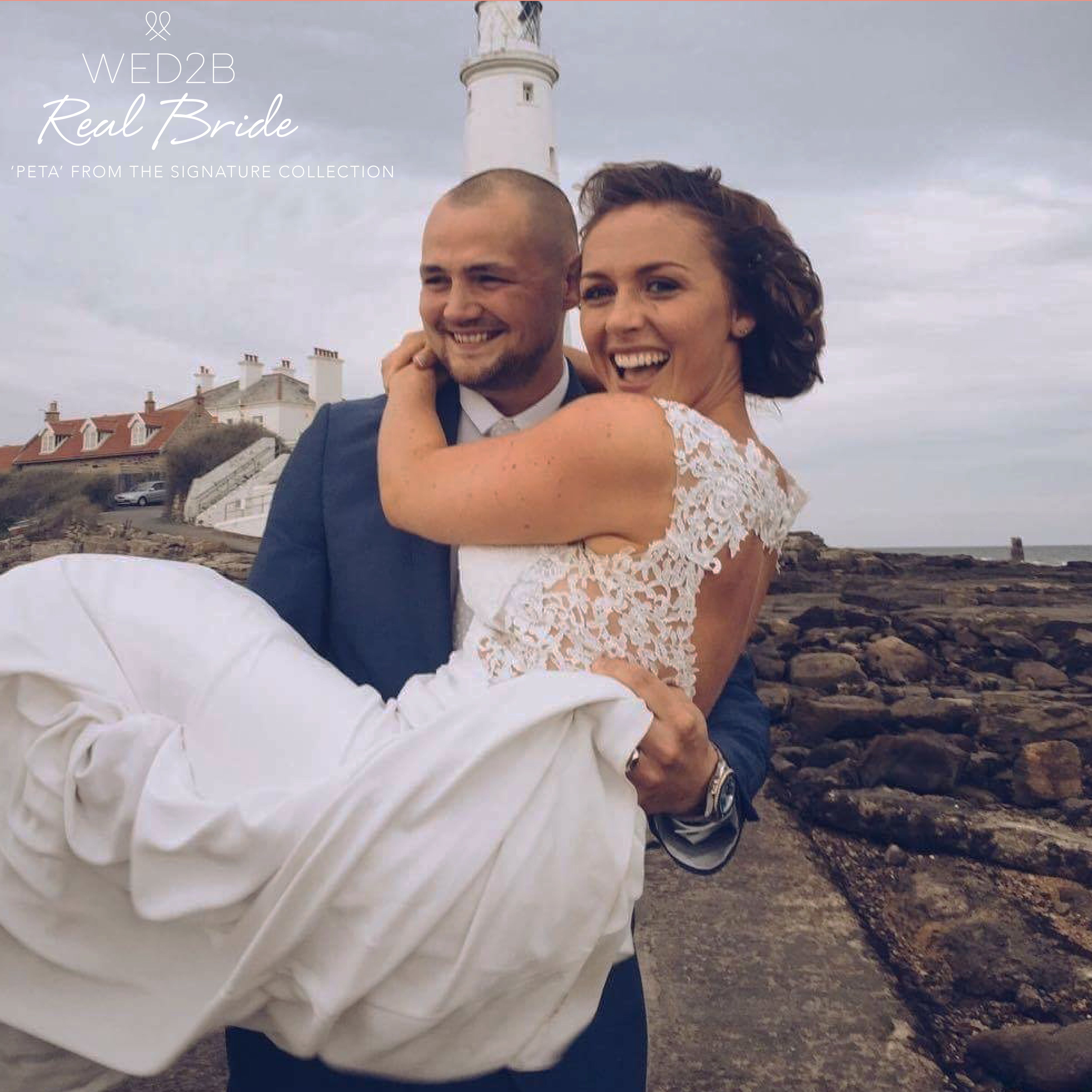 Real Brides Wed2b: Kayleigh Looks Absolutely Stunning In 'Peta' From The