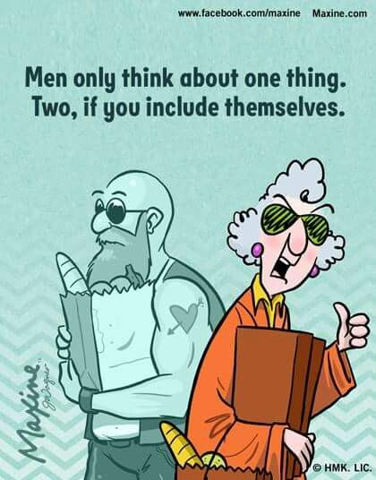 Men only think about one thing- LOL