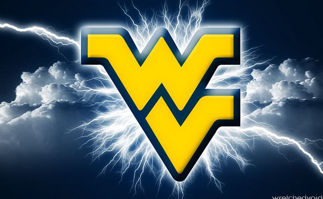 Wvu Flying Wv Lightning West Virginia Mountaineers Football West Virginia West Virginia University