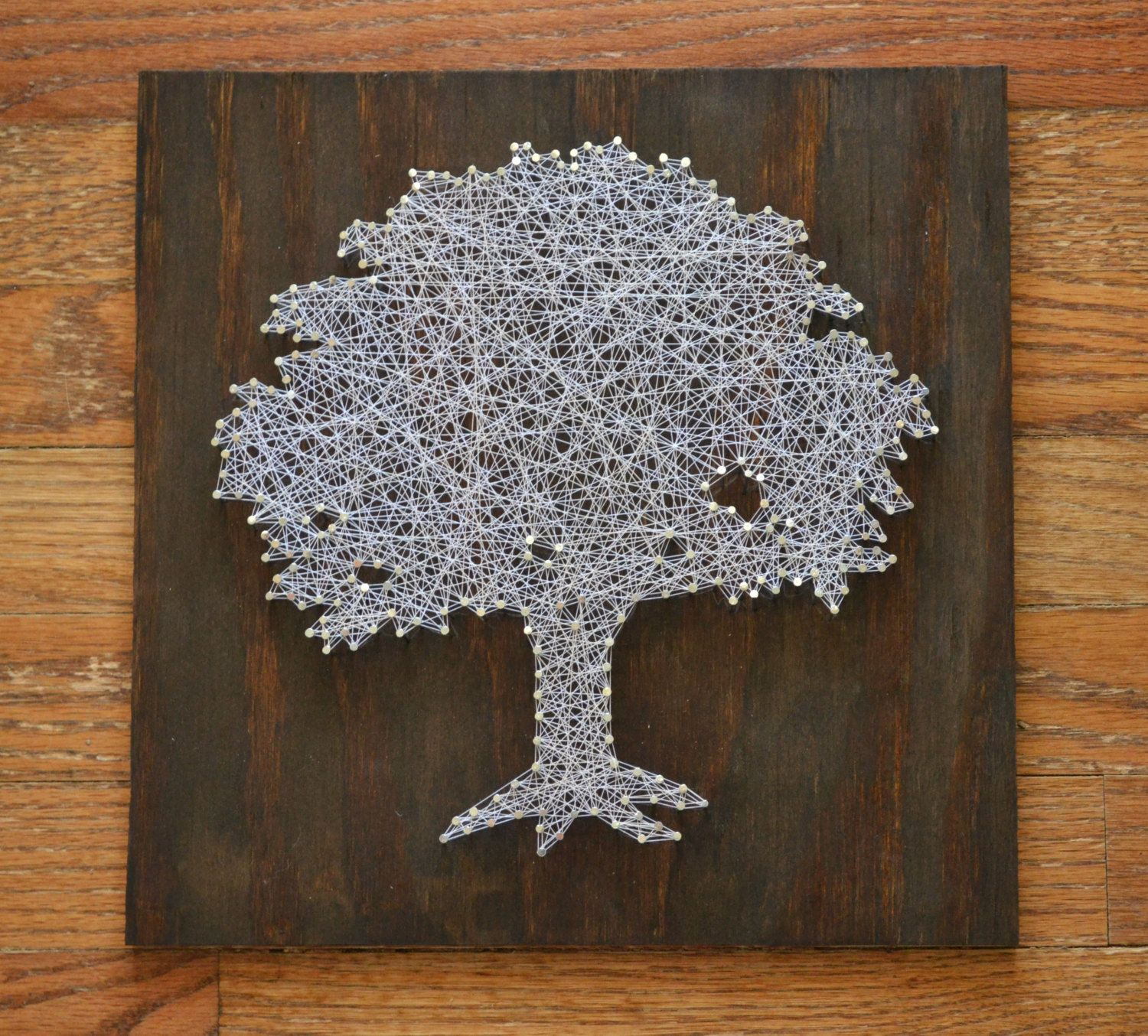 Toomer's Corner Tree String Art - Tree Nail Art - Auburn ...