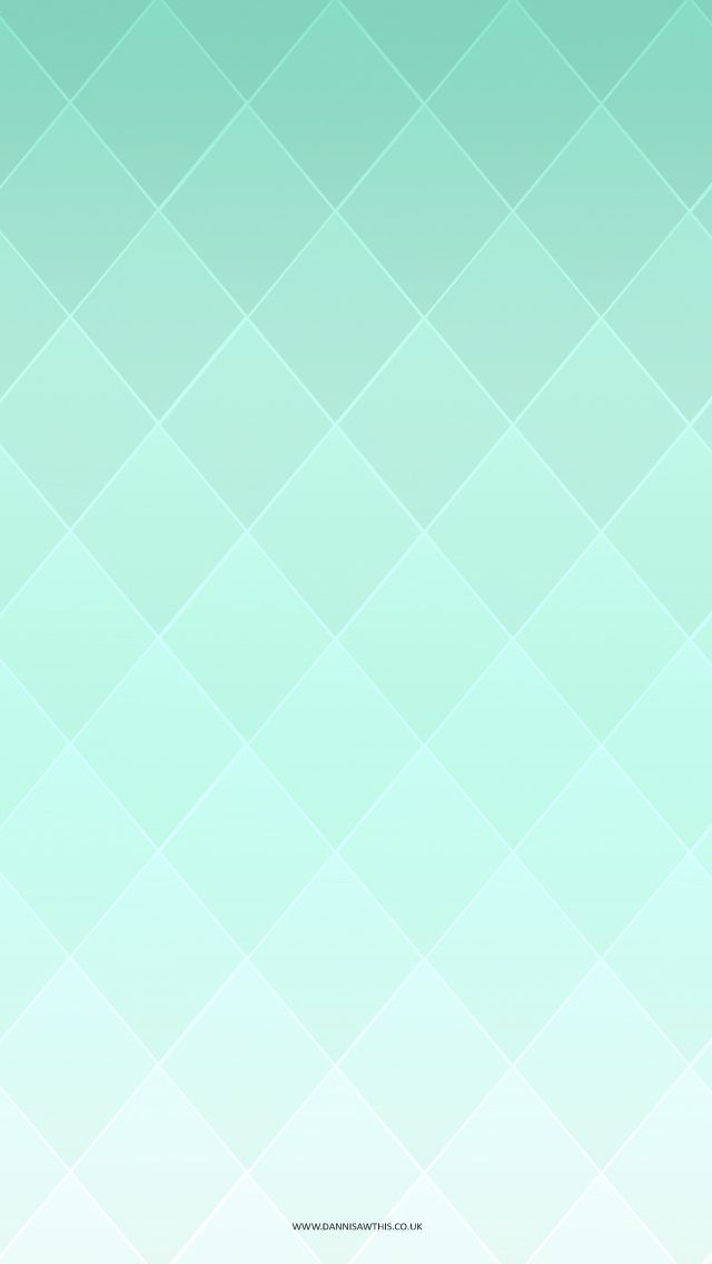 Free Mint Diamond iPhone Wallpaper http://www.dannisawthis.co.uk