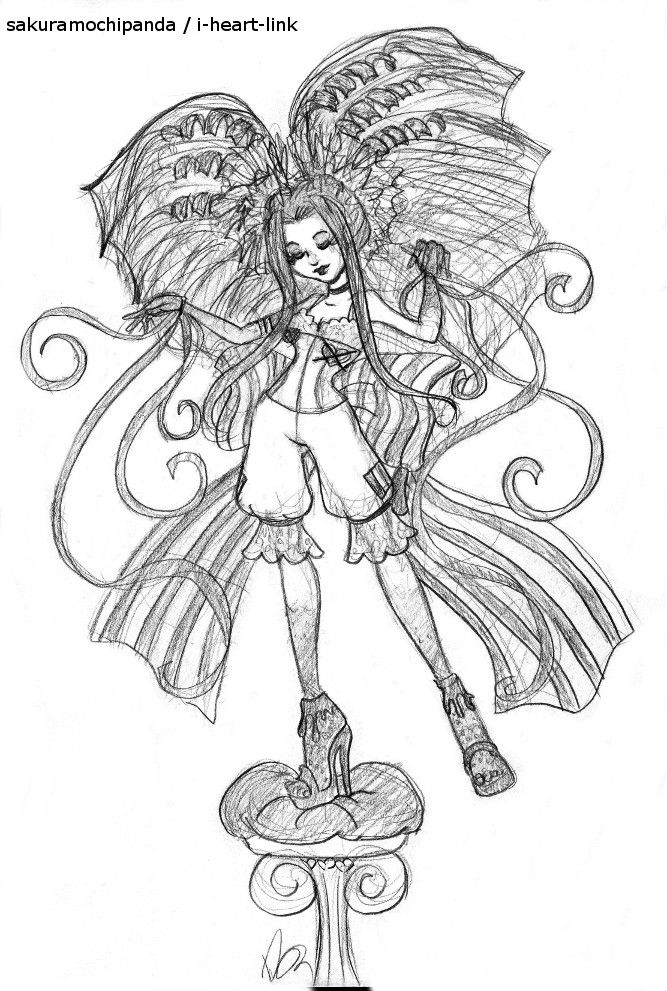 Monster High Cketched Coloring Pages
