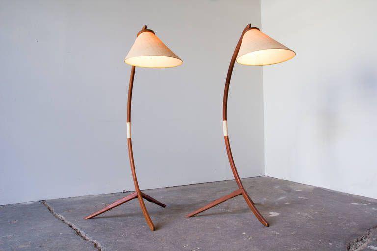Teak Floor Lamps: ,Lighting