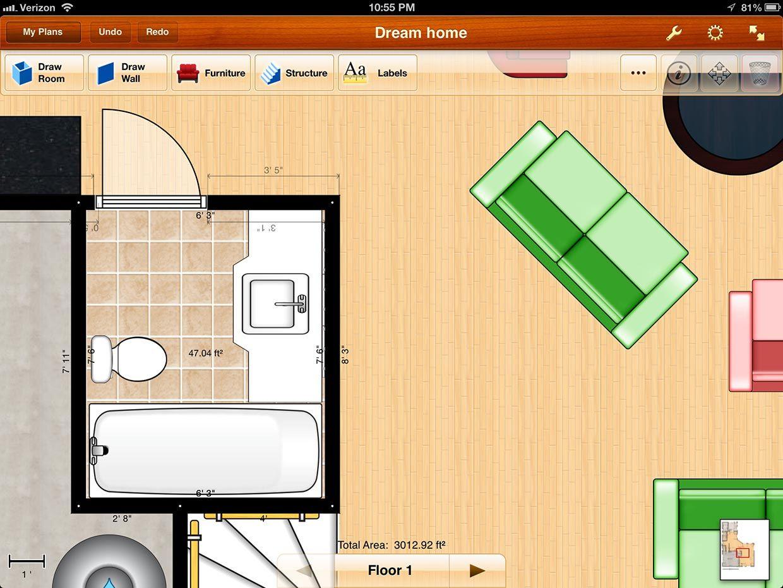 Best Ipad App For Drawing Floor Plans In 2020 Design Home App Floor Plan App Floor Plan Design