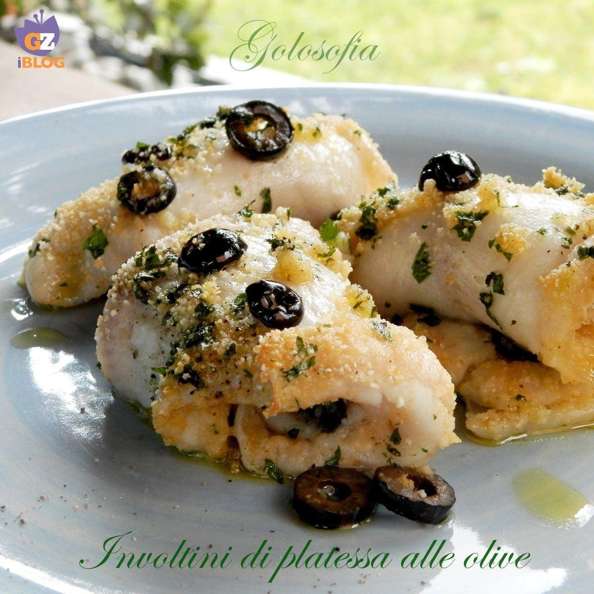 Involtini di platessa alle olive-ricetta gustosissima #fitness #alle #involtini #platessa #oliverice...