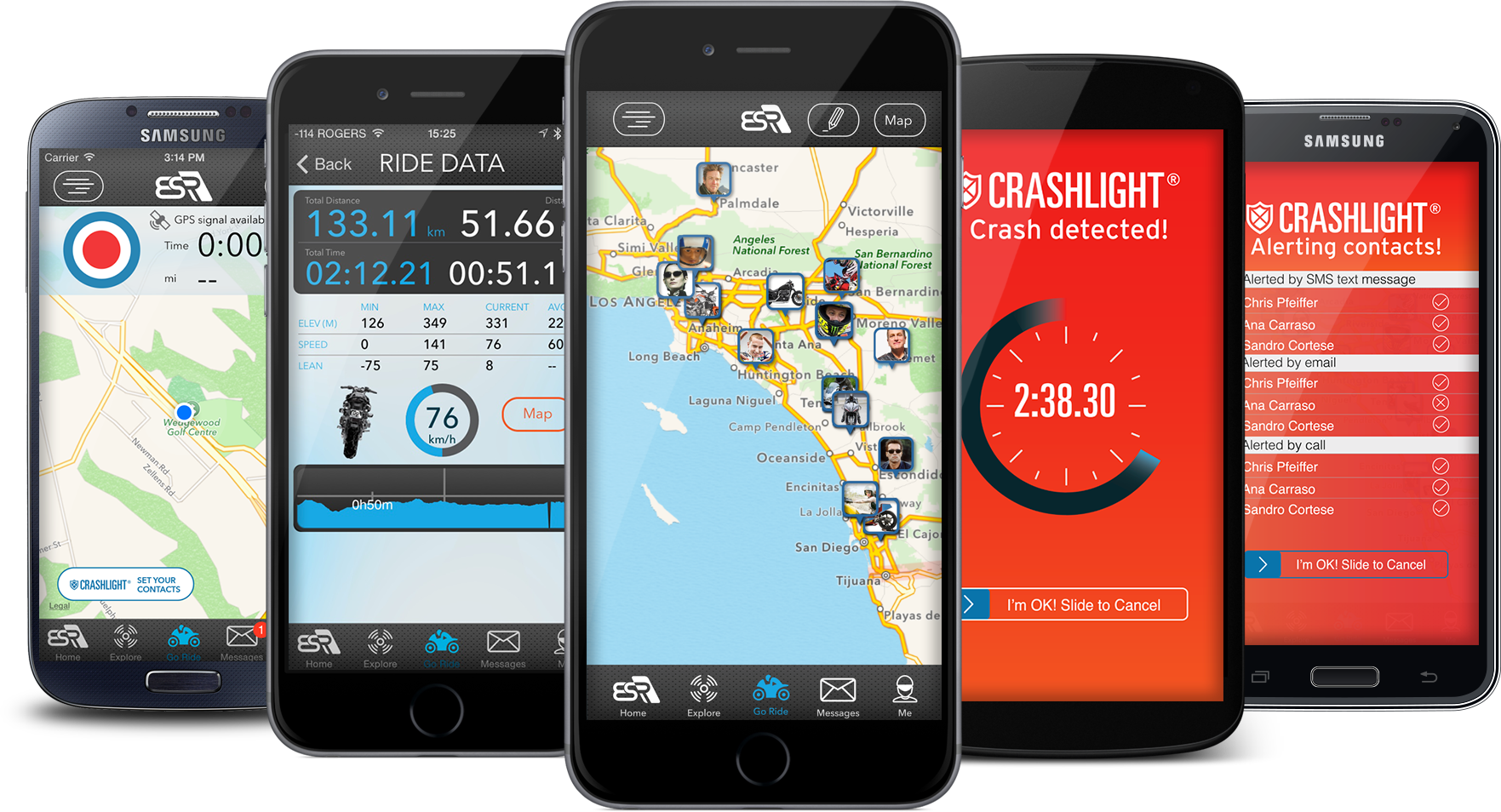 Check out the EatSleepRIDE app it's the most advanced GPS