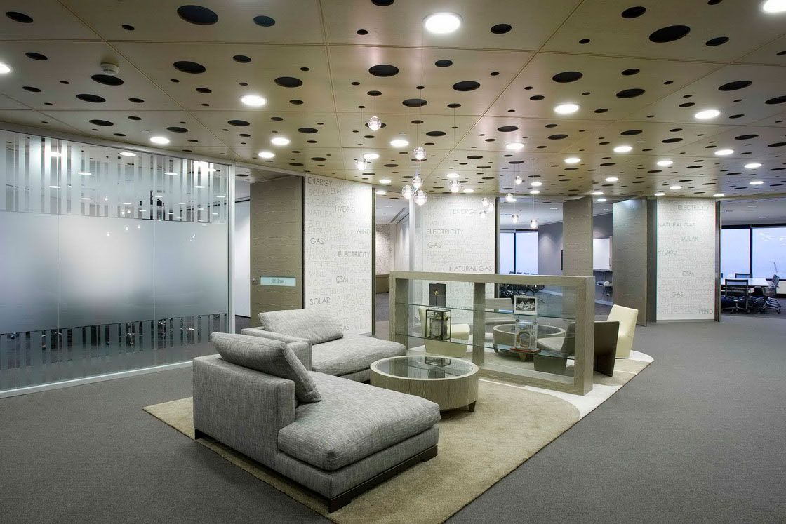 Home design wallpapers modern office interior for Modern corporate office design