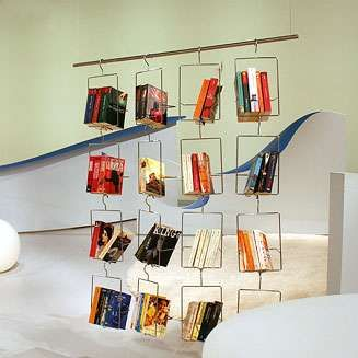 Salkim Bookhangers These Ingenious Metal Hangers Make Books Appear As Though They Are Floating In Air