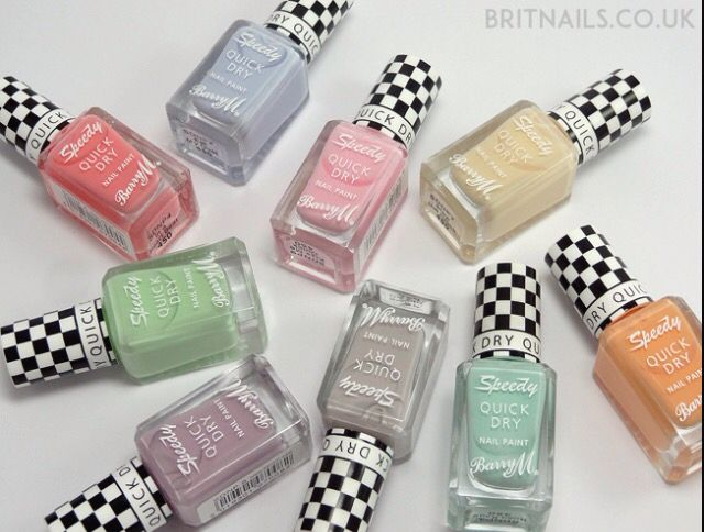 The new Barry M quick dry nail varnishes are gorgeous! I love these ...