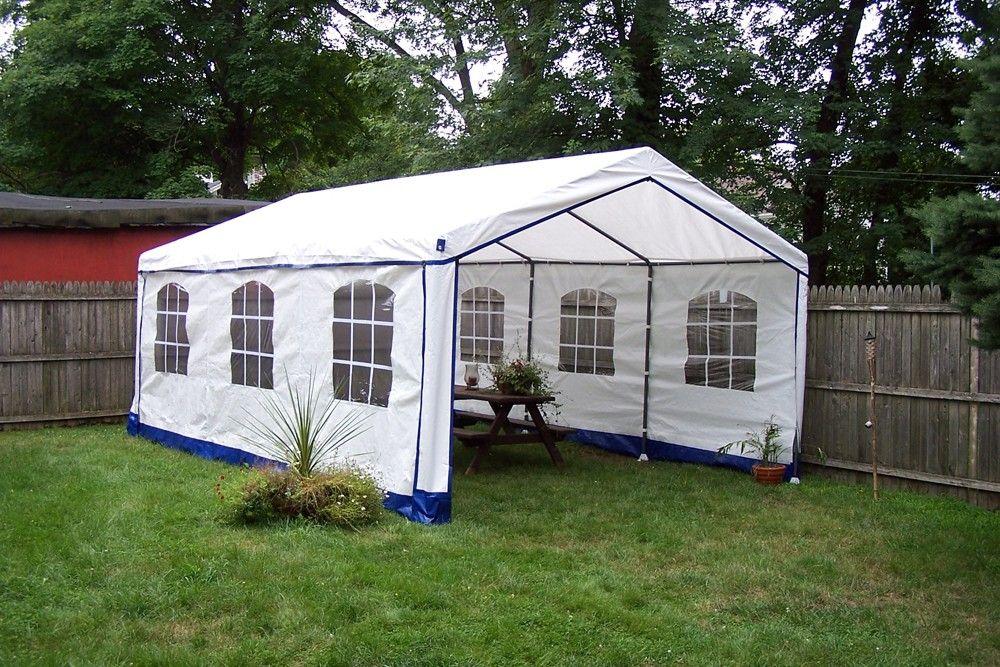 Decorative Style 14 X 20 Enclosed Party Tent Dear