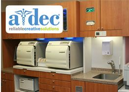 Protecting our patients is one of our top priorities, so we use the A-dec® Preference ICC Sterilization System for safe, efficient sterilization. Instruments are sterilized after every use with a special unit called an autoclave, which is regularly monitored by an independent lab to ensure the highest level of safety and cleanliness. Where needed, disposable tools or items may be used and immediately discarded.