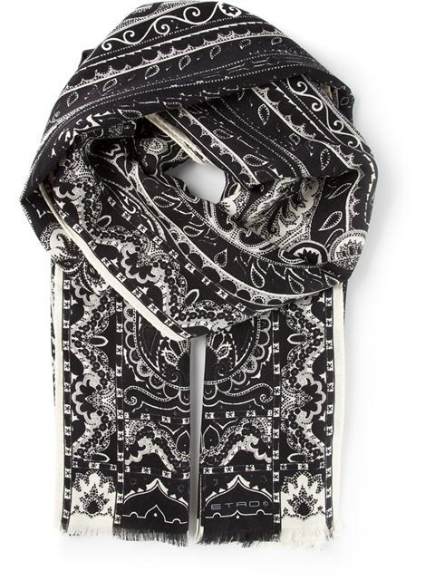 Shop Etro printed scarf in Cuccuini from the world's best independent boutiques at farfetch.com. Over 1000 designers from 60 boutiques in one website.