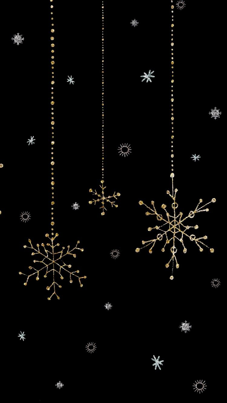 Pin By Cindy Jones On Dark Wallpapers Christmas Phone Backgrounds Phone Wallpaper Black Wallpaper