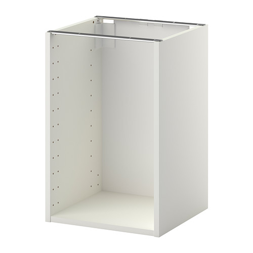 METOD Struttura per mobile base, bianco | Base cabinets, Tv storage ...