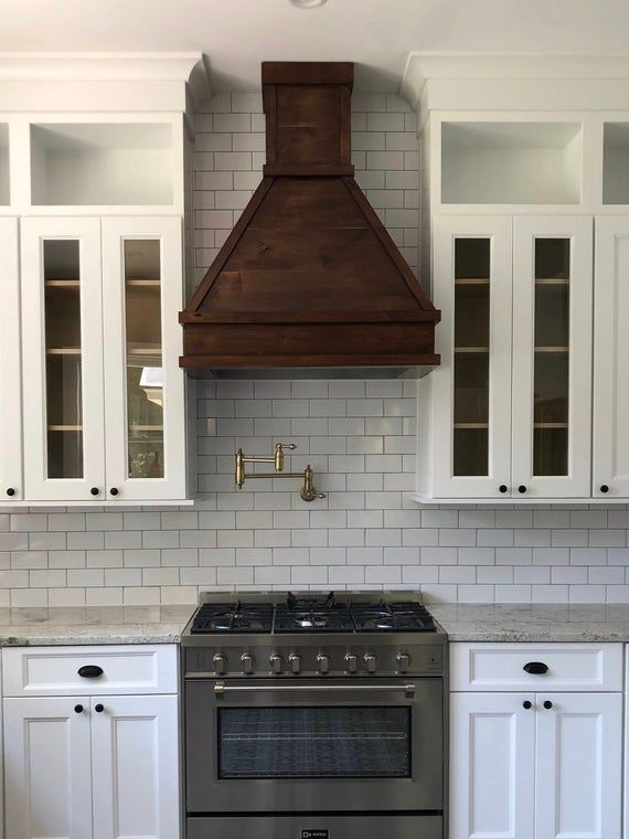Custom 30 36 Knotty Alder Vent Hood Etsy Kitchen Vent Kitchen Vent Hood Kitchen Range Hood