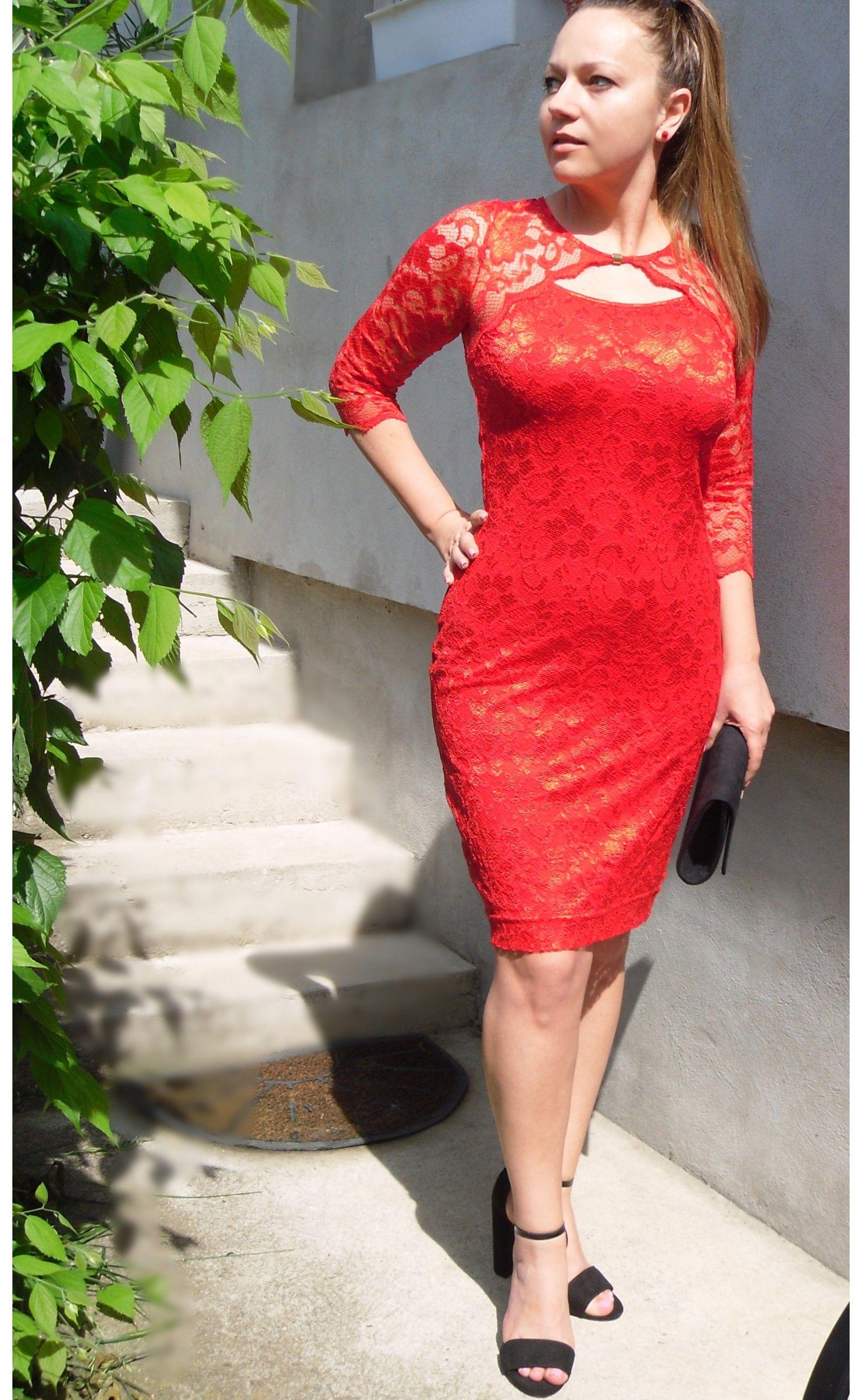 8a1c041786 csipke ruhák webáruház: csipkés ruha, piros csipke ruha | alkalmi ruha