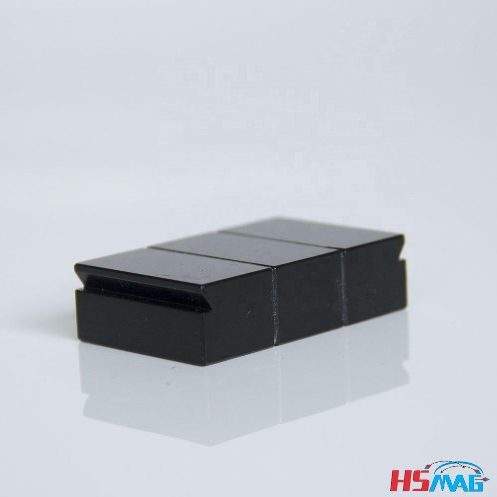 Custom Drawing Design Block Insulated Magnet Lamination Insulated Custom Drawing Rare Earth Magnets
