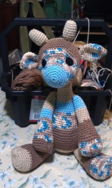Emily the Giraffe Modification Amigurumi | Deers | Amigurumi
