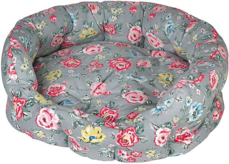 Rainbow Rose Large Dog Bed