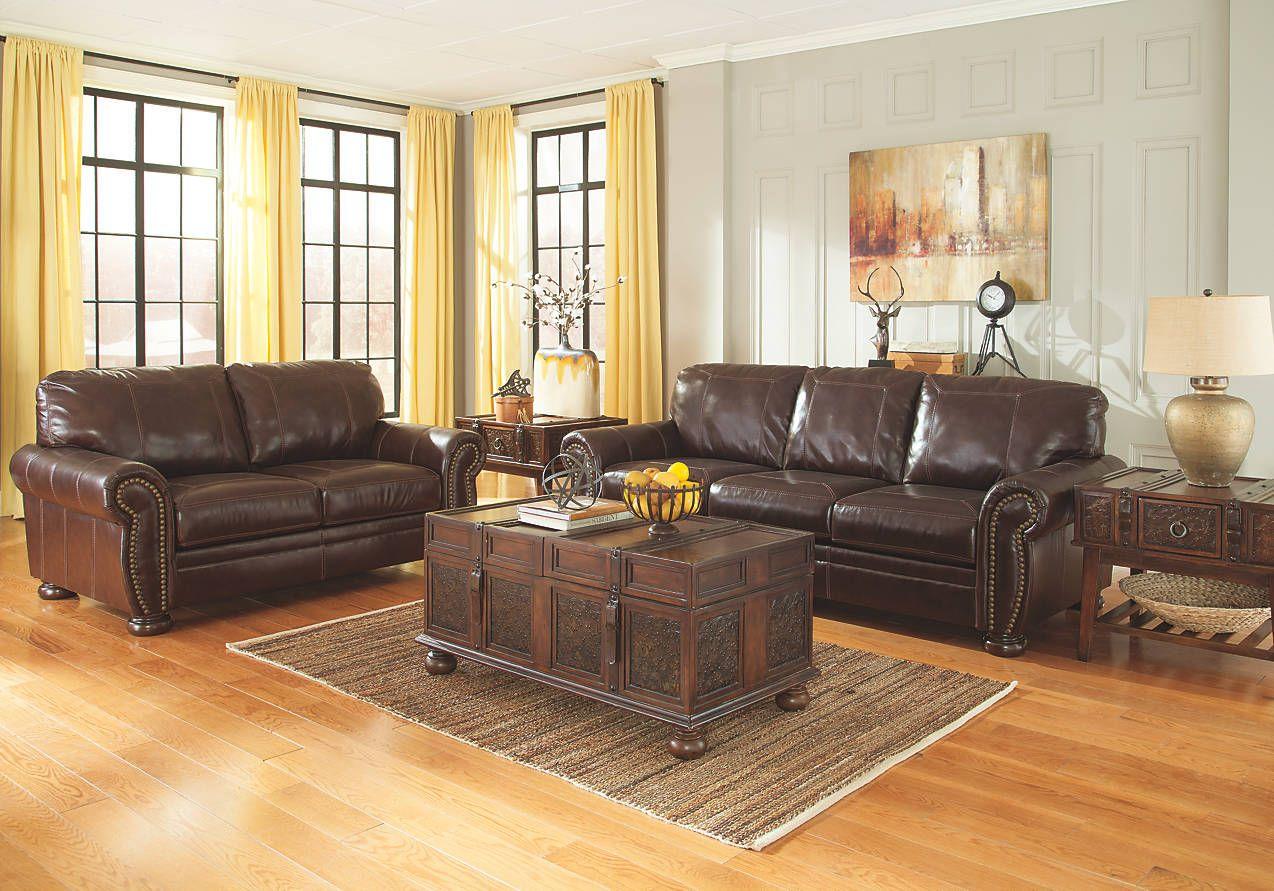 Ashleyfurniture 50404 38 35 T753 Sofa Loveseat Set Furniture