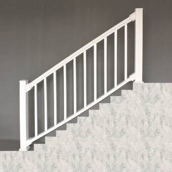 Best 3 Ft H X 6 Ft W Tuscany Treated Stair Deck Railing Panel 400 x 300