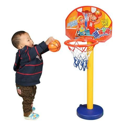 Children Sport Toy Basketball Kit Height Adjustable Best For Children 3 Years Up Outdoor Or Indoor Toy Active Abilit Outdoor Toys Captain America Toys Toy Sets