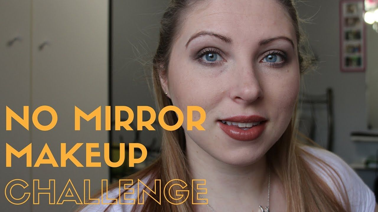 339b26b8053 Makeup | No Mirror Challenge Watch me as I attempt a full face of makeup  without