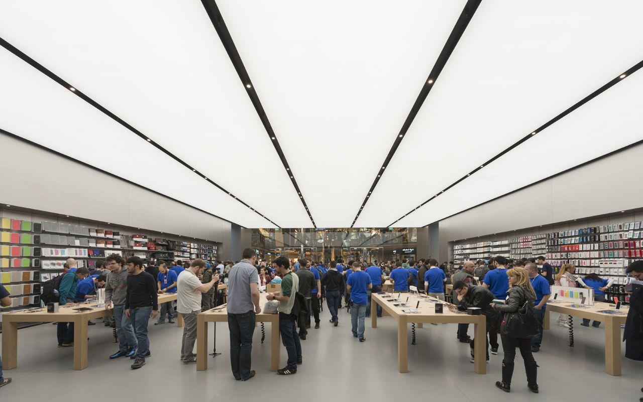 Apple Store Zorlu Foster + Partners Apple store