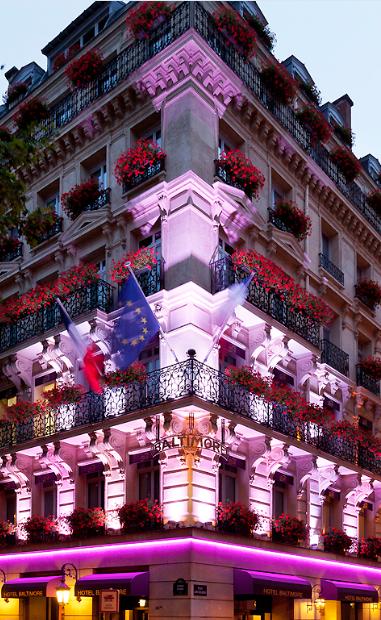 The 5* Hotel Baltimore Paris Champs Elysées. (avec Images