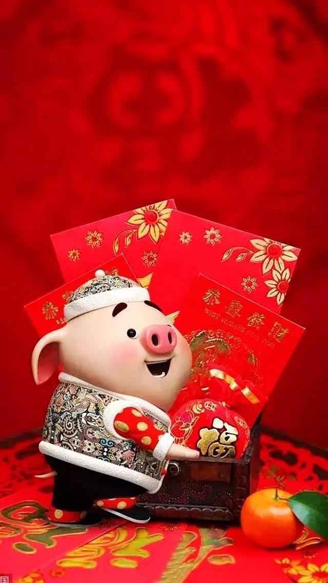 2019豬豬送福來了! 祝您「豬」事如意!