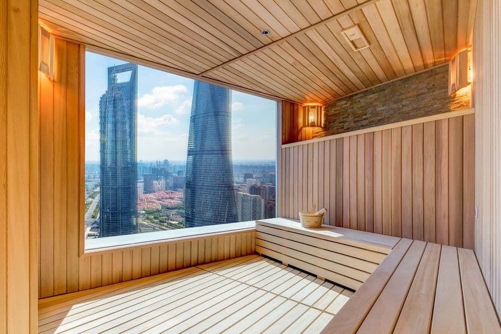 The Ritz-Carlton Shanghai, Pudong, Shanghai, Sauna (With