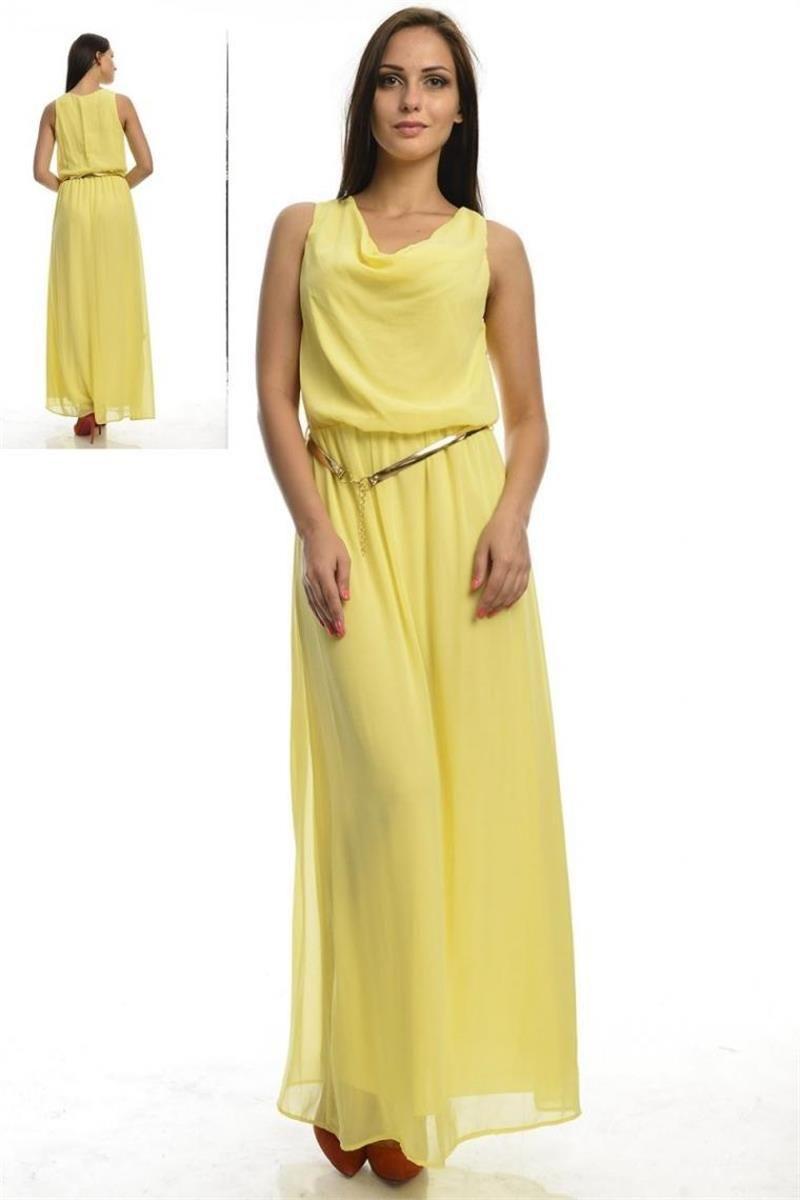 Modelleri ve elbise fiyatlar modasor com pictures to pin on pinterest - Uzun Kemerli Sar Elbise Modelleri Ve Uygun Fiyat Avantaj Yla Modabenle