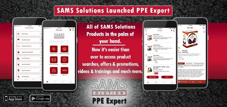 SAMS Solutions PPE Expert (Personal Protective Equipment