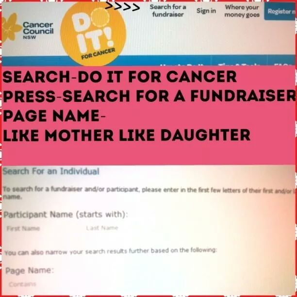 mum myslef and my 8 yr old shavihng our heads for raising money for cancer research! please help us out ! http://nsw.cancercouncilfundraising.org.au/personalPage.aspx?RegistrationID=794047