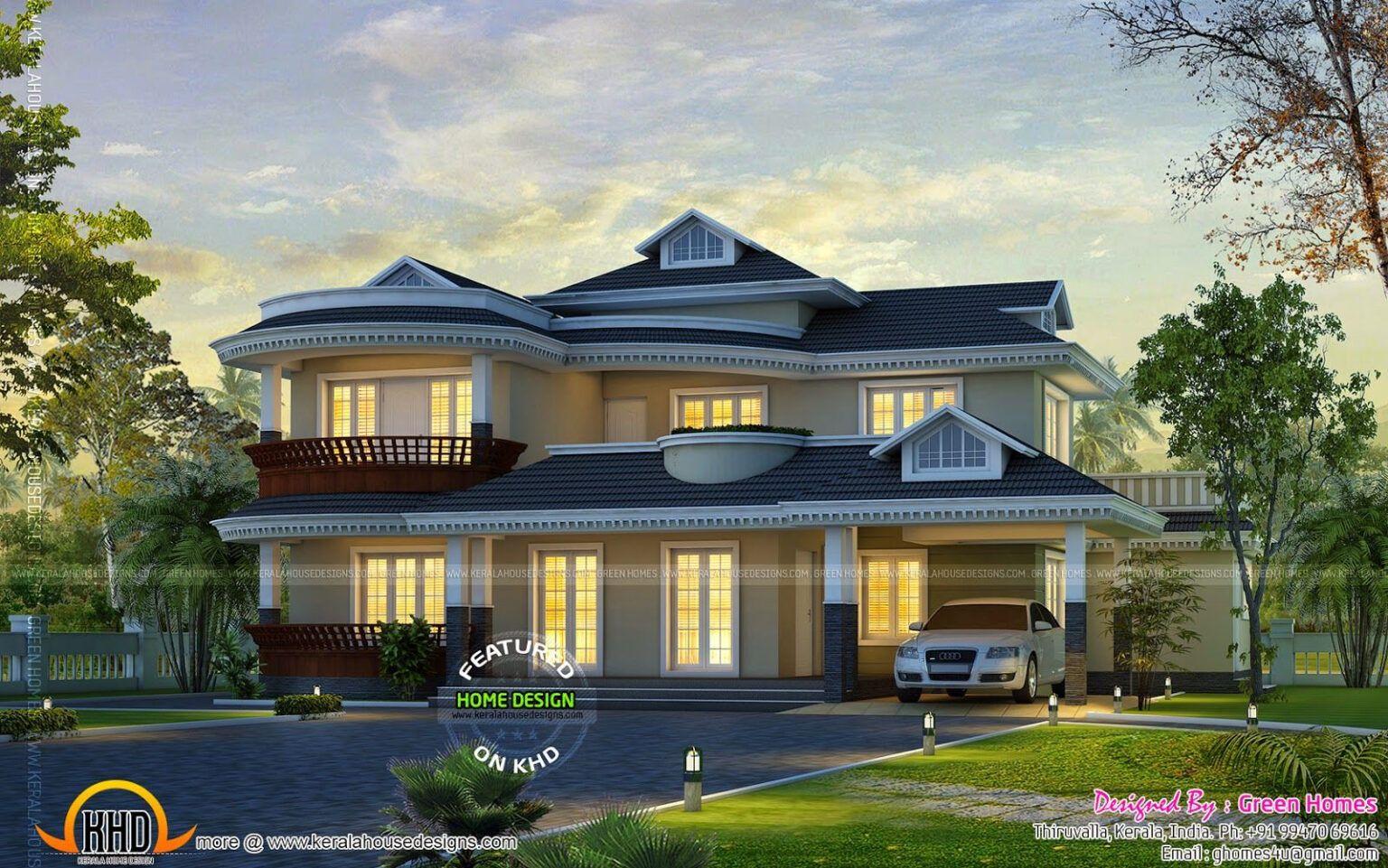 2400 Sq Ft House Plans 3d House Plans Ide Bagus In 2020 Kerala House Design Kerala Houses Dream Home Design