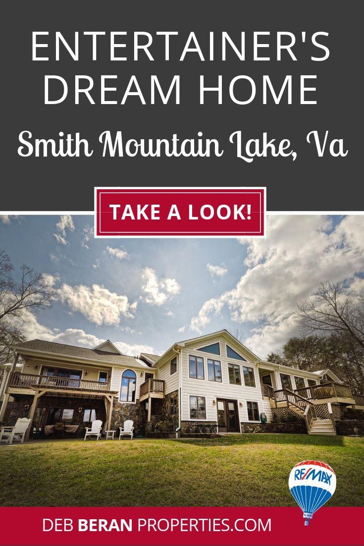 Homes at smith mountain lake for those who enjoy