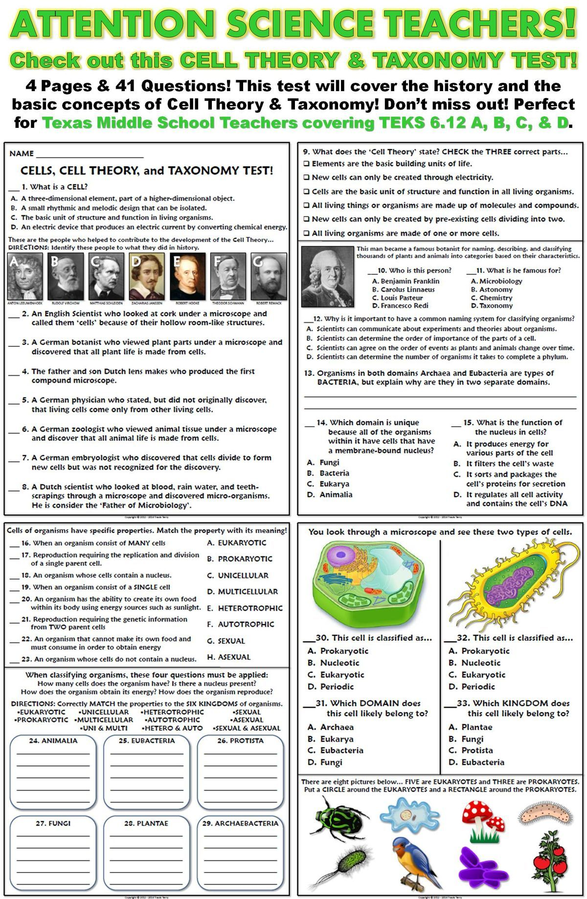Pin By Beth Smith On School Ideas Pinterest Biology Cell Theory Prokaryotic And Eukaryotic Two Basic Types Of Biological Cells Lessons Ap Teaching Science Life