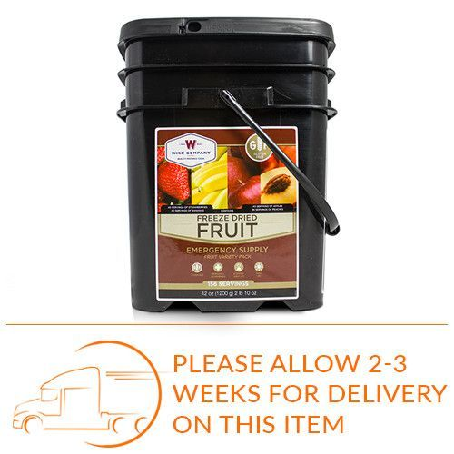 Gluten Free 156 Serving Freeze Dried Fruit | Freeze dried ...