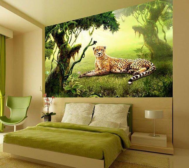details zu 3d sch ne leoparden fototapeten wandbild fototapete bild tapete familie kinder 3d. Black Bedroom Furniture Sets. Home Design Ideas