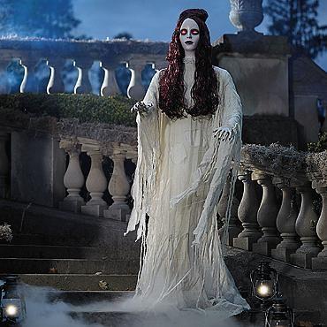 Life-size Eerie Eva Figure celebrate it -- halloween Pinterest