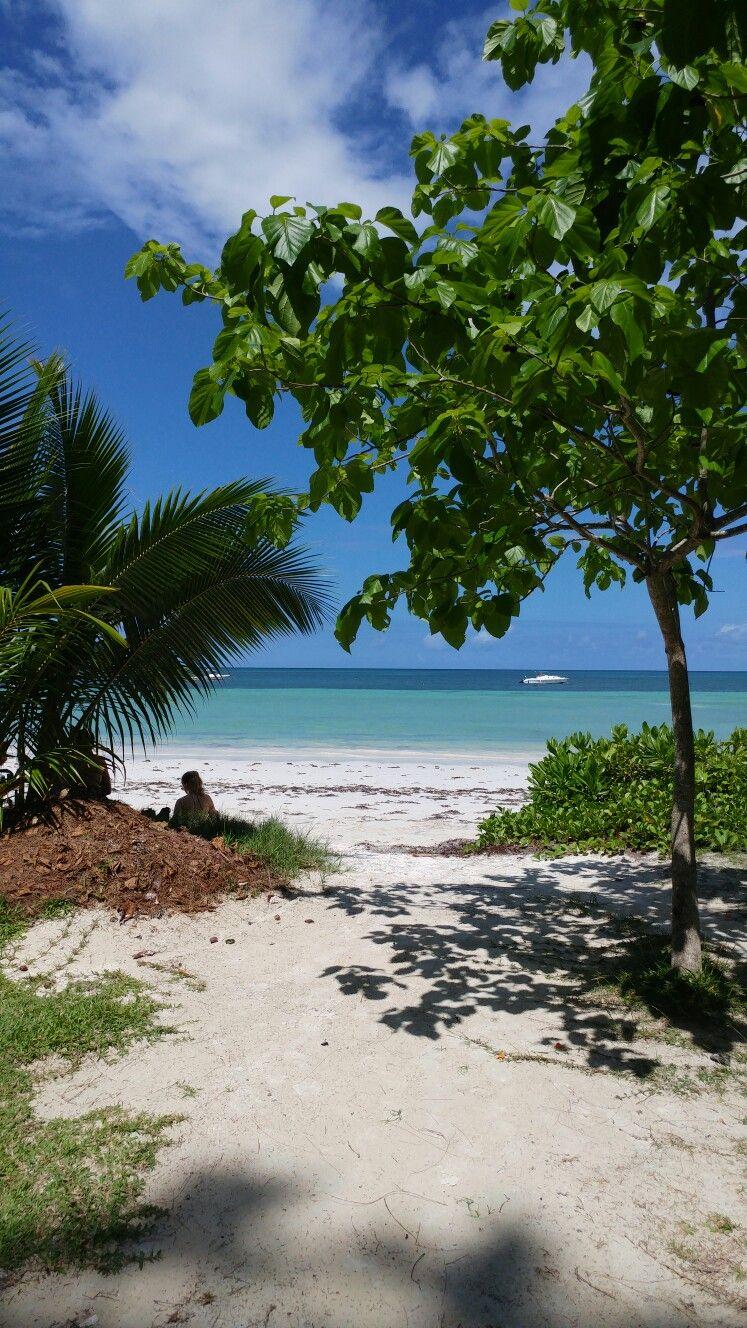 Anse Lazio beach, Praslin the Seychelles. Simply stunning ...