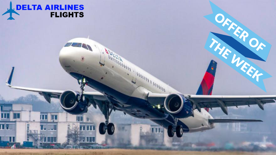 Get Delta airlines flights reservations from our official