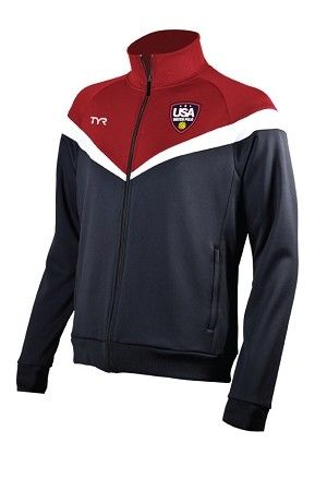 bfb748f4f TYR Men's Alliance Victory Warm-Up Jacket with Shield Logo | ropa ...