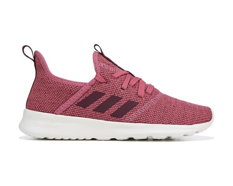 87bd549f8f5 adidas Cloudfoam Pure Sneaker Mauve Maroon Sneakers Fashion