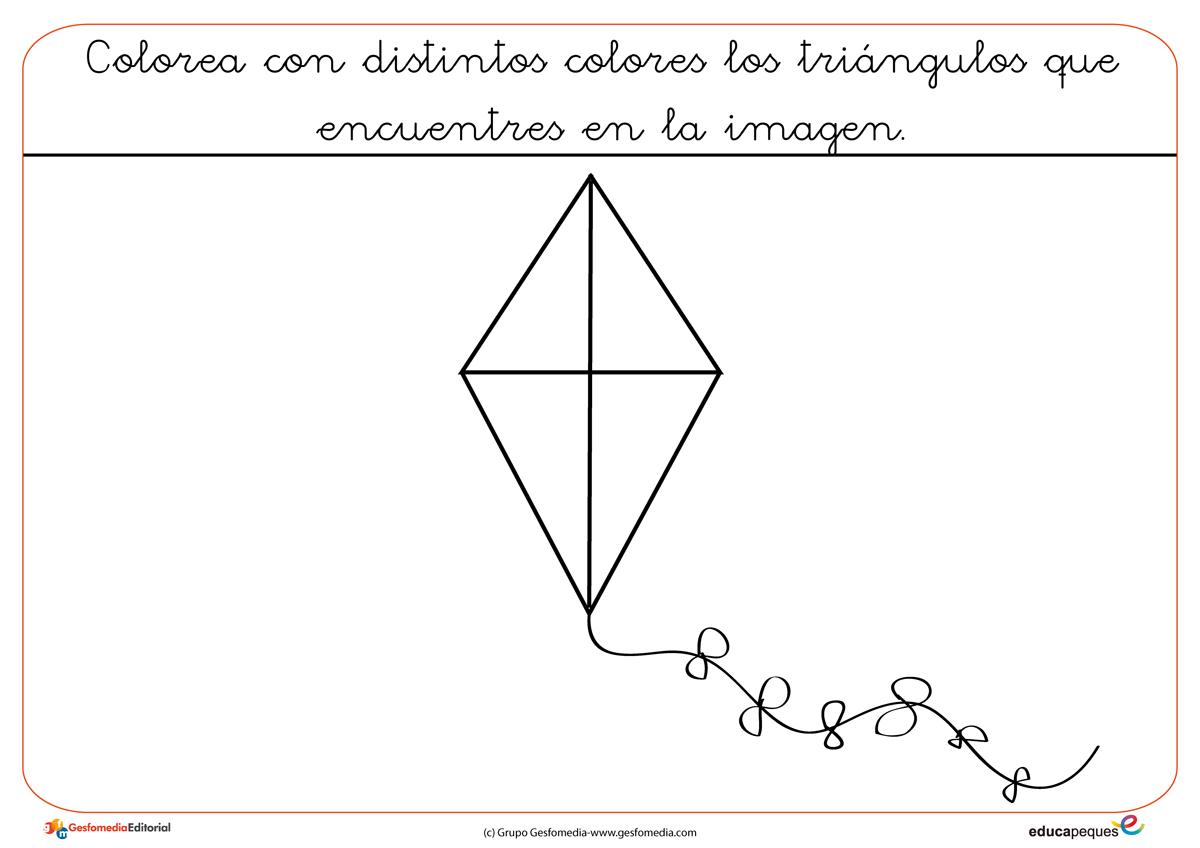 Figuras geométricas para colorear | Figuras geometricas, Colorear y ...