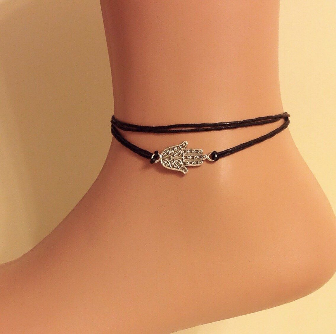 wanelo sale string for shop adjustable cotton products anklet best ankle jewelry on bracelets star hippie cosmic