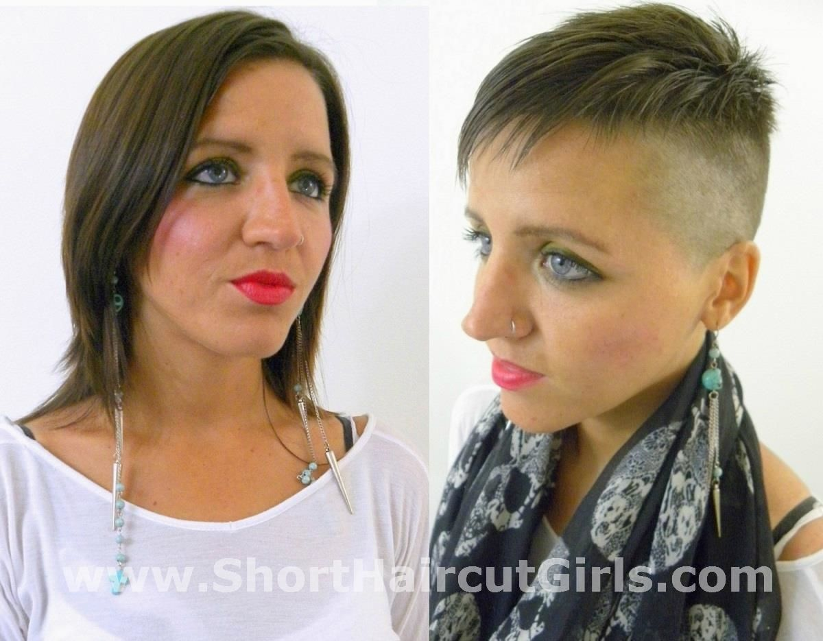 Watch Video At Shorthaircutgirls Com Short Hair Styles
