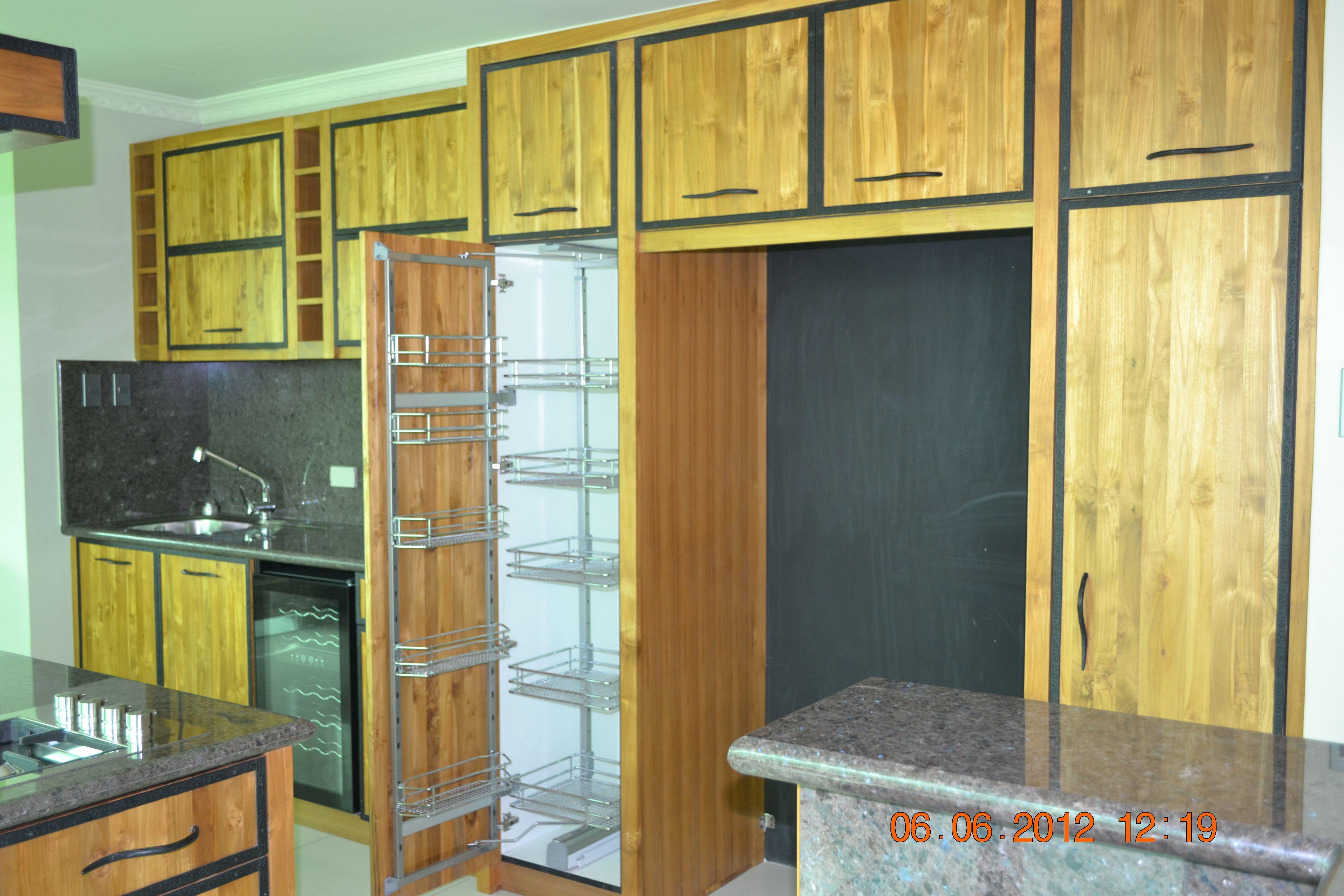 Kitchen Swing Type Pantry Modular Kitchen Cabinets Kitchen