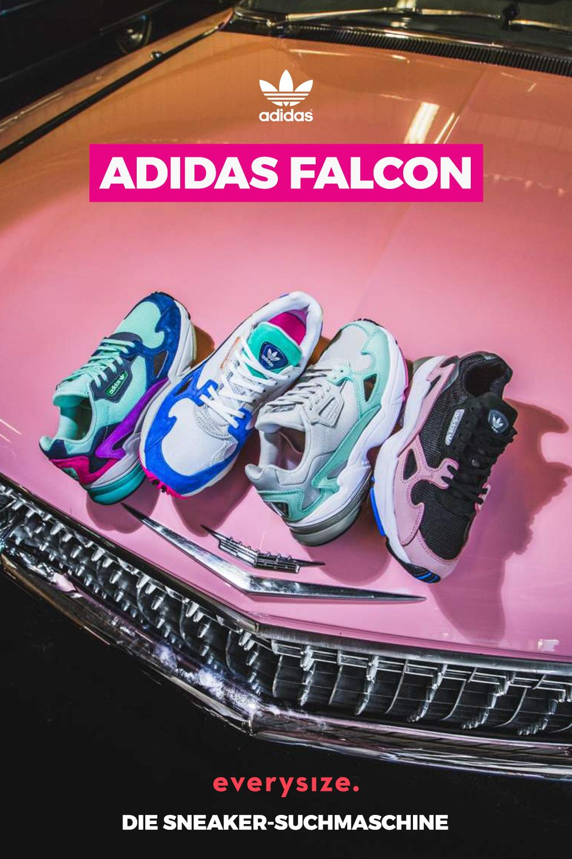 Entdecke alle aktuellen Farben des adidas Falcon für Frauen