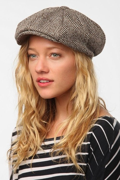 Dress like Marley Rose: cooperative menswear newsboy hat $29 from Urban Outfitters
